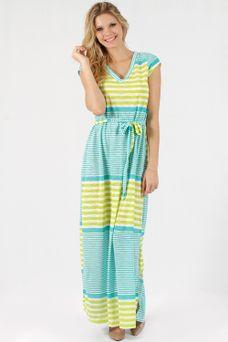 Vestido-Listras-Mix-Verde---mercatto--babadotop1