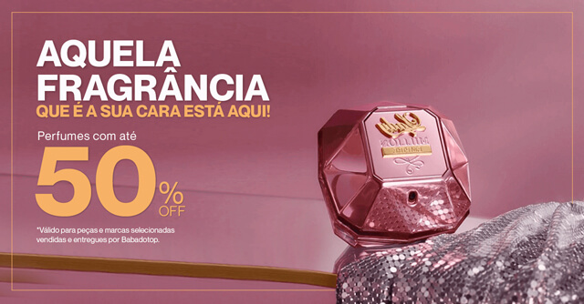 perfumes ate 50%