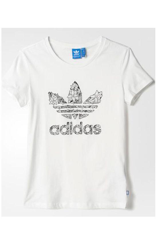 Camiseta Adidas Originals Trefoil 2 Branca - BabadoTop df46647be1de6