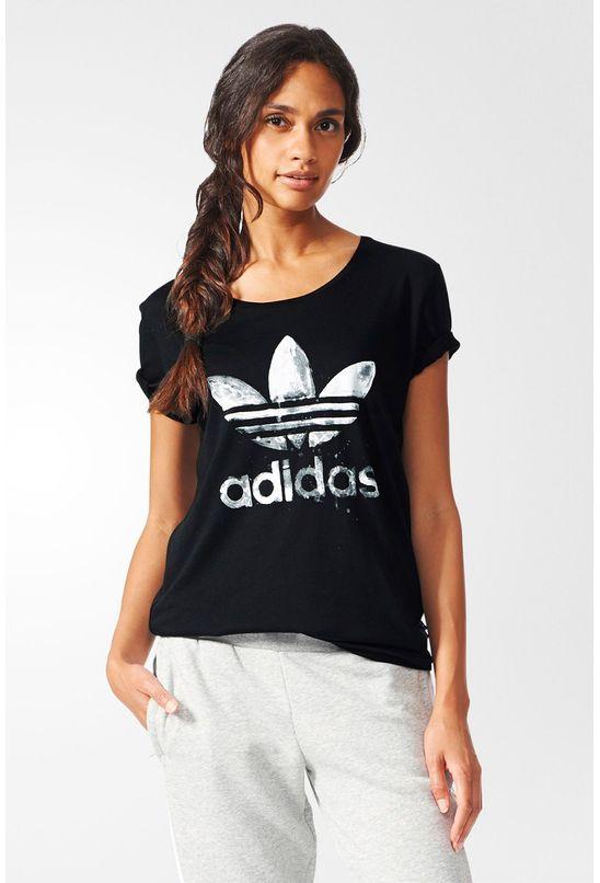 Camiseta Adidas Originals Drip Trefoil Black - BabadoTop 26916a833d42a