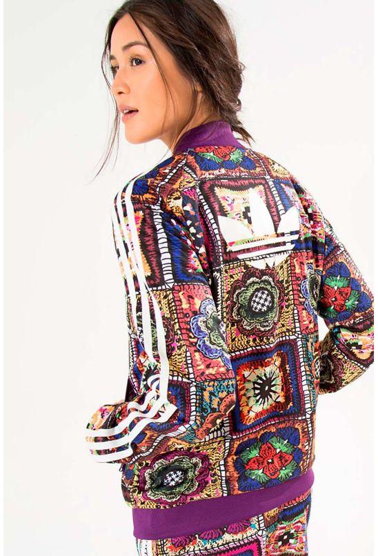 9ebc20db2c0 Jaqueta Adidas Farm Crochita Supergirl - BabadoTop