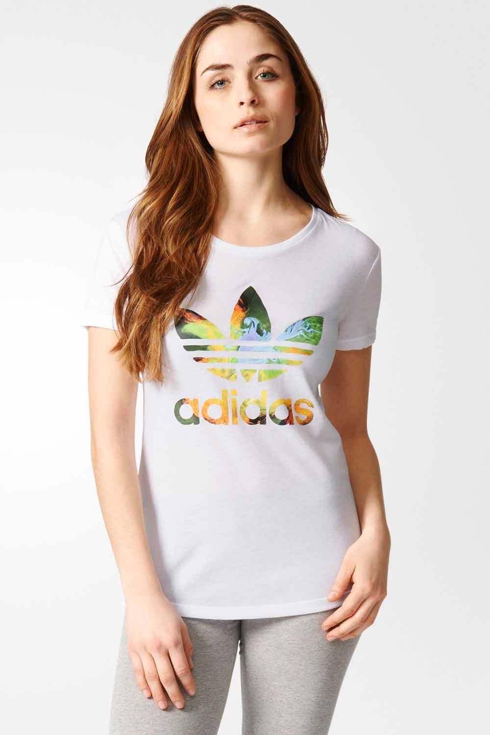 T-Shirt Adidas Originals Graphic Trefoil - BabadoTop 94bb4584631f9
