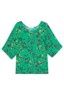 9cf1c53df Verde Babados - Blusas Animale – BabadoTop