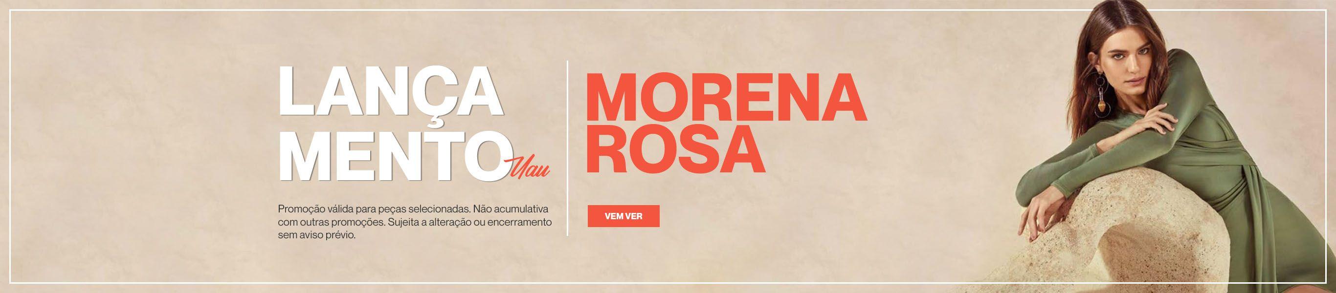 Morena Rosa Lançamento