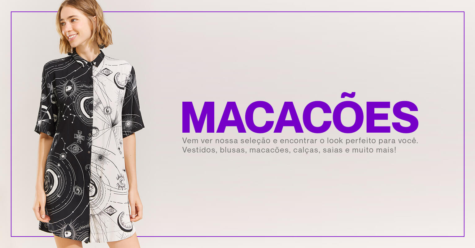 Banner Mobile - Macacão