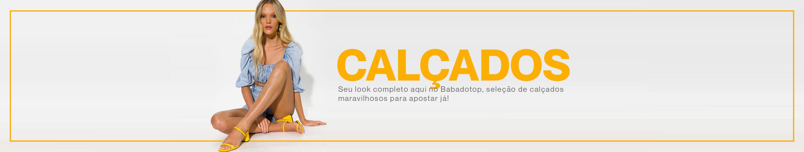 Banner desktop - Calçados