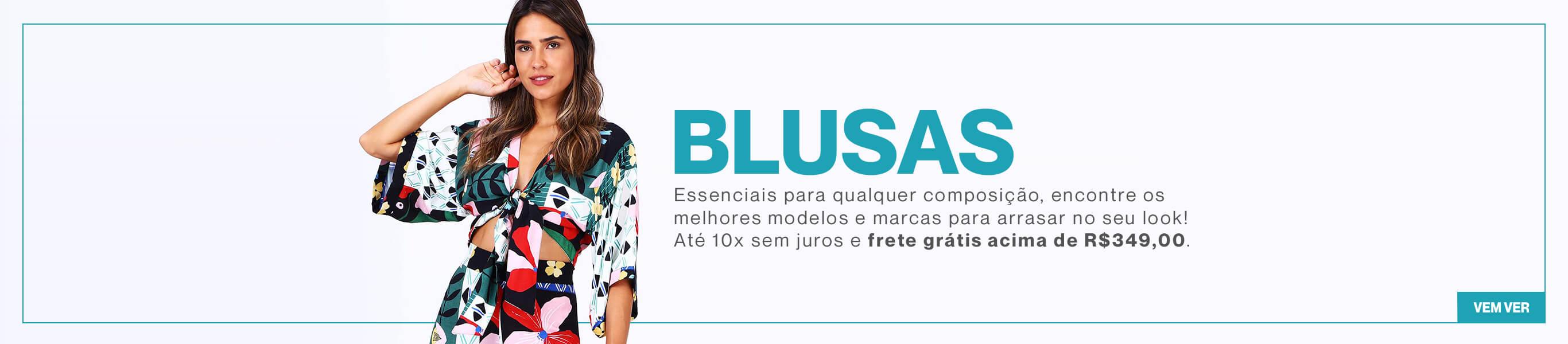 Banner Desktop - Blusas