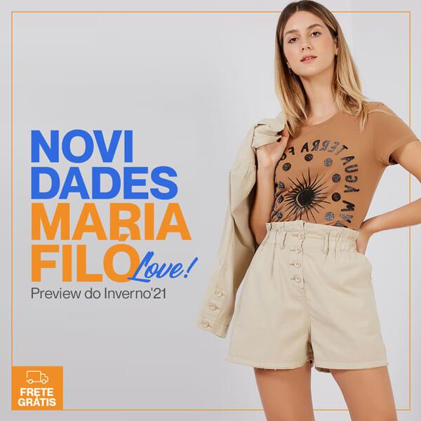 Novidades Maria Filó